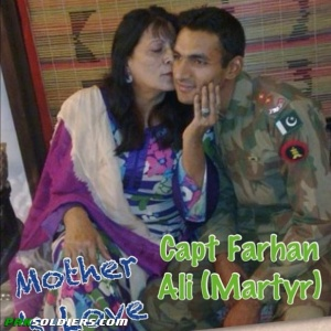 Captain Farhan Ali Shaheed